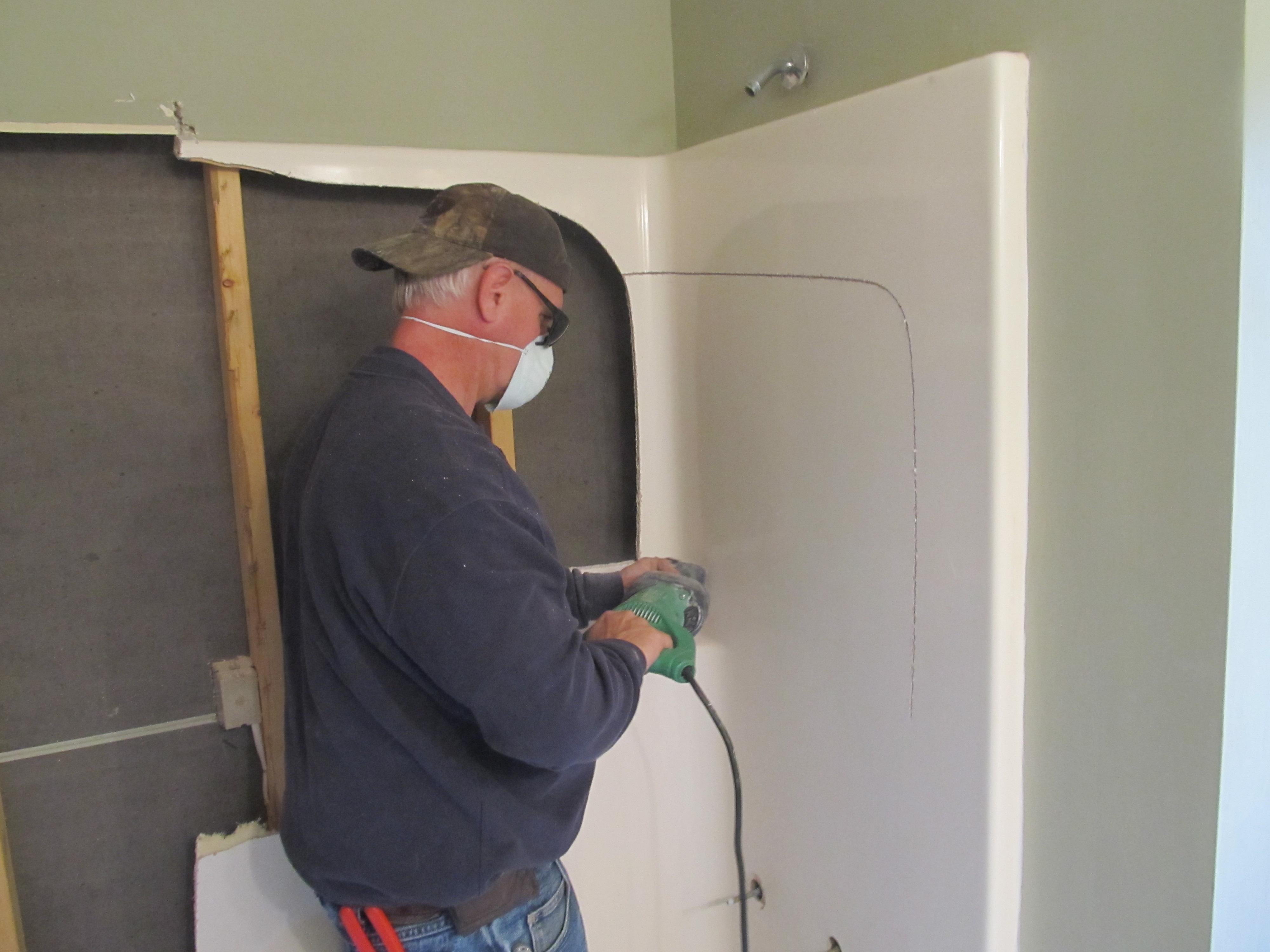 How To Install A Fiberglass Shower