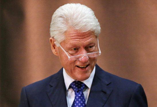 Bill Clinton in Ulster